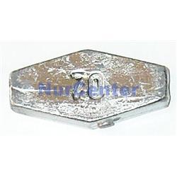Ciężarek ołów płaski przelotowy Assan 70g