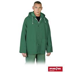 Kurtka przeciwdeszczowa Reis zielona rozmiar XL